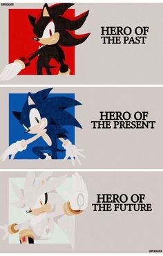 #sonic #shadow #silver #anime