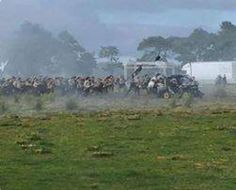 Filming the Battle of Culloden near Glasgow on august 22! 😱 thanks to…