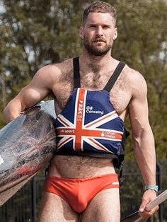 Champion paddler