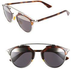 b0be68e5553c Christian Dior Women's So Real Brow Bar Sunglasses - Black/ Havana -  ShopStyle