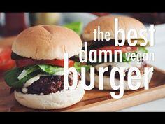 THE BEST DAMN VEGAN BURGER | hot for food - http://2lazy4cook.com/the-best-damn-vegan-burger-hot-for-food/