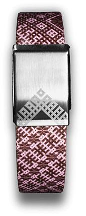 A modern take on the Latvian woven belt: www.biksem.lv