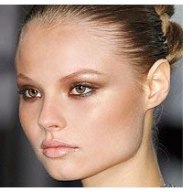 Bronzed eyes are blown out in this BRONZED BEAUTY look. Get the style: http://bit.ly/BookGLAM