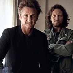Sean Penn & Eddie Vedder