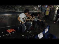 Heart of Spades : Viva La Vida - COLDPLAY Cover @ Swanston St. Melbourne Australia - YouTube
