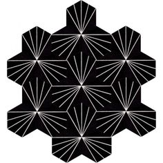 Moroccan Encaustic Cement Hexagonal Tile Artic-26-hex