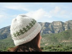How to Loom Knit a 2-Color Hat (DIY Tutorial) - YouTube.  Very simple and clear instructions.
