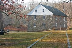 Start the hike here, at Peirce Mill.