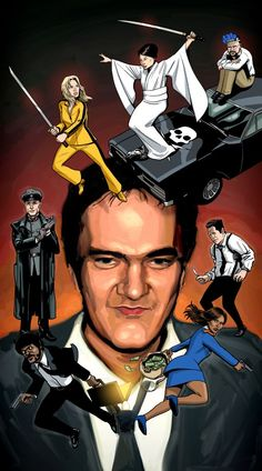 """nparts: """" A brief, illustrated history of Quentin Tarantino From Reservoir Dogs to Django Unchained, U. director Quentin Tarantino has joined the canon of great filmmakers with his distinct — if. Arte Pulp Fiction, Tarantino Pulp Fiction, Quentin Tarantino Films, Stanley Kubrick, Love Movie, Movie Tv, Tim Burton, Reservoir Dogs, Westerns"""