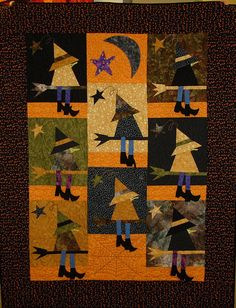 """If the Hat Fits, 41.5 x 52.5"""", by Aimee Griffin as seen at Overall Quilter.  Pattern by The Buggy Barn"""