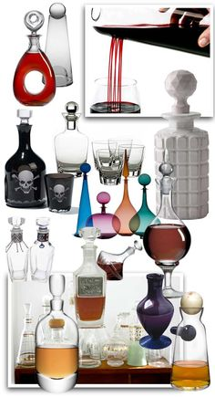 decanters by Brian