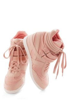Hi-Top of the World Wedge in Blush, #ModCloth I WANT THESE!