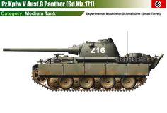 Pz.Kpfw V Panther Ausf.G mit Schmalltürm