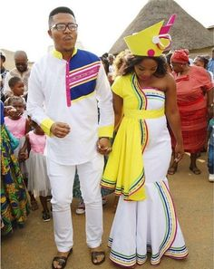 Cute South African Traditional Wedding 2019 South African Traditional Wedding 2019 - This Cute South African Traditional Wedding 2019 images was upload on March, 8 2020 by admin. Here latest Sou. Pedi Traditional Attire, Sepedi Traditional Dresses, South African Traditional Dresses, Traditional Wedding Attire, Traditional Fashion, African Wedding Attire, African Attire, African Weddings, Shweshwe Dresses