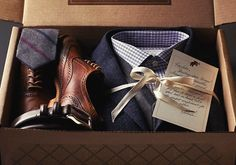 I'd love to get a care package like this from Trunk Club ... and keep everything in it
