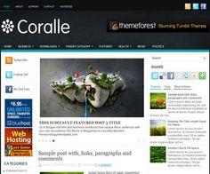 Coralle Blogger Template é um template blogger para blog de noticiais, revista e etc. Com layout limpo, Coralle tem 3 colunas, sidebar na esquerda e na direita, 3 colunas de rodapé, guias de widget, menus drop-down, slide de conteúdo em destaque, background personalizado, botões de redes sociais, locais para posicionar anúncios e muito mais.