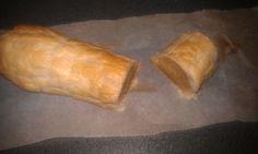 Suikervrije banketstaaf. Marsepein volgens dit recept: http://www.thankyourbody.com/raw-vegan-marzipan-delights/
