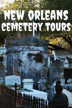 Travel the World: A fun thing to do when visiting New Orleans is joining one of the many New Orleans cemetery tours.