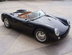 1955 Used Porsche 550 Spyder Recreated Roadster At Sports Car Wallpaper