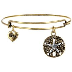 Chic Metal Starfish Decorated Bracelet ($99) ❤ liked on Polyvore featuring jewelry, bracelets, metal bangles, starfish jewelry, metal jewelry, starfish bangle and star fish jewelry