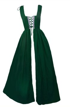 Woman's Renaissance Medieval Gothic Long Dresses  For Halloween Ball Gowns Costumes Gothic Evening Dresses