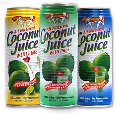 Amy & Brian's Coconut Water.  Love this stuff!