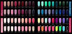 paleta kolorów Semilac