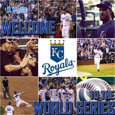 World Series 2014 #KCRoyals #BeRoyal #TakeTheCrown