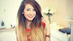 Gallery For > Zoe Sugg Hair