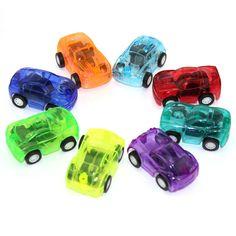 5ピース赤ちゃんのおもちゃプルバック車プラスチックかわいいおもちゃ車用子車輪ミニ車モデル面白い子供のおもちゃ男の子ランダム色