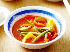 Ook in de zomer kan een soepje heerlijk smaken