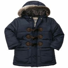, Navy, hi-res Boys Winter Coats, Winter Jackets, Oshkosh Baby, Cute Little Boys, Little Boy Outfits, Boy Fashion, Baby Boy, Kid Stuff, Parenting