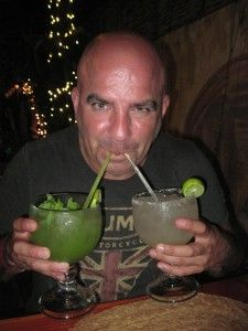 Brian at Misiones de Kino  #margarita #mojito #cocktail #Cabo #CaboSanLucas #dining #food #travel #Mexicanfood #Mexico #MisionesdeKino Want to know where you can sample a delicious, inexpensive meal in Cabo? Check out my blog: http://www.ginapacelli.com/2014/08/03/cabo-misiones-de-kino-a-restaurant-off-the-beaten-path/