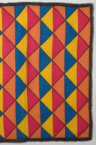 Yves Saint Laurent wool challis scarf 1960s-70s. A vintage original from YSL.