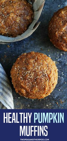 Are you ready to bake some pumpkin muffins? Try these healthy pumpkin muffins! Are you ready to bake some pumpkin muffins? Try these healthy pumpkin muffins! These easy pumpkin m Healthy Muffins, Healthy Treats, Healthy Baking, Healthy Recipes, Healthy Kids, Pumpkin Recipes Healthy Easy, Healthy Pumpkin Bread, Yummy Treats, Yummy Recipes
