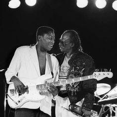 Miles Davis and Darryl Jones