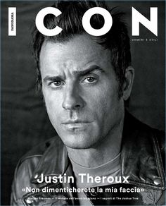 Actor Justin Theroux covers the May 2017 issue of Icon El País.