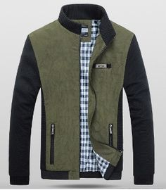 Mens Two Tone Short Casual Jacket