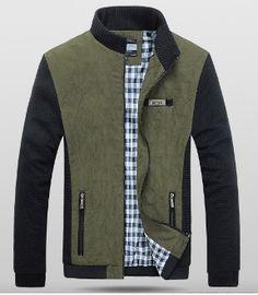 Mens Two Tone Short Casual Jacket