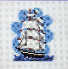 ship hama beads by perleshama