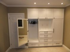 Built in wall closets - Built in closets with wall lights