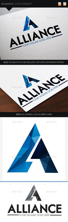 Buy Alliance Logo Design by on GraphicRiver. Logo of a stylized A letter in polygons shapes. Full vectors, this logo can be easily resize and colors can be change. Creative Logo, Creative Ideas, 31 Ideas, Creative Design, Logo Abstrait, Two Letter Logo, Alliance Logo, Eye Logo, Photography Logo Design