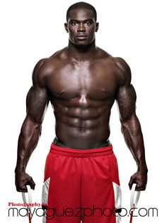 James Ihedigbo, No. 44 Safety / Special teamer for the New England Patriots. Photographed by Maya Guez for KRAVE FIT magazine