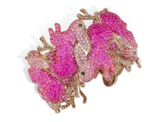 Hop into Spring with Lydia Courteille's 'Lapin Rose' Collection | Jewels du Jour