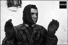 Near Bastogne. December 23rd, 1944. German prisoner of war captured by US forces during the Battle of the Bulge//Robert Capa