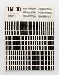 TM Typographische Monatsblätter, 10, 1954-Gebrauchsgrafik