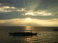 Another sunset... Another Amazing view.. Moalboal - Cebu Island - Philippines