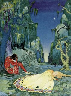 Virginia Frances Sterrett  From Old French Fairy Tales 1920: Penn Publishing Company
