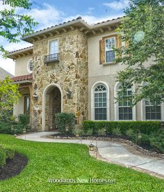 #stone #stucco #exterior