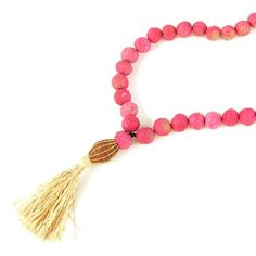 Gratitude Beads in Pink made by & for Ugandan woman :)
